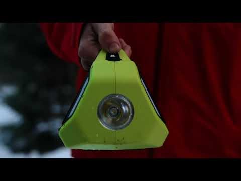 Altec Lansing Storm Chaser Weather Alert 3Way Power Radio Light