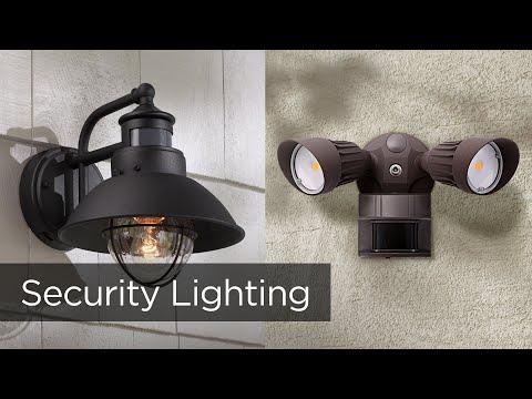Security Lighting - Motion Sensor Lights & Dusk to Dawn Lighting - Lamps Plus