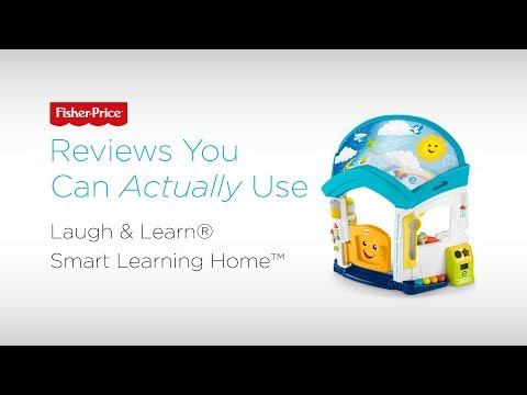 Reviews You Can Actually Use: Laugh & Learn® Smart Learning Home™   Fisher-Price
