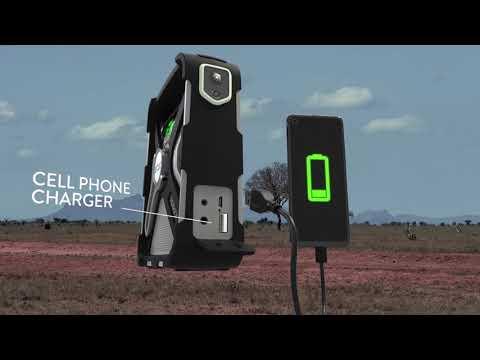 Etón SIDEKICK Outdoor Adventure Radio, Lantern and Smartphone Charger
